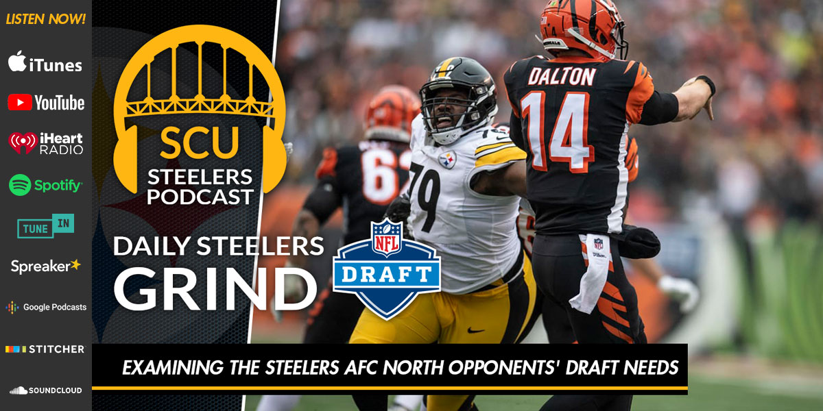 Examining the Steelers AFC North opponents' draft needs