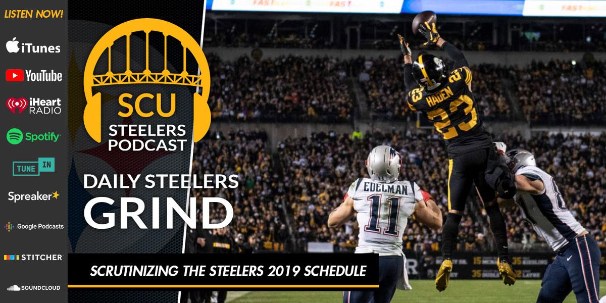Scrutinizing the Steelers 2019 Schedule