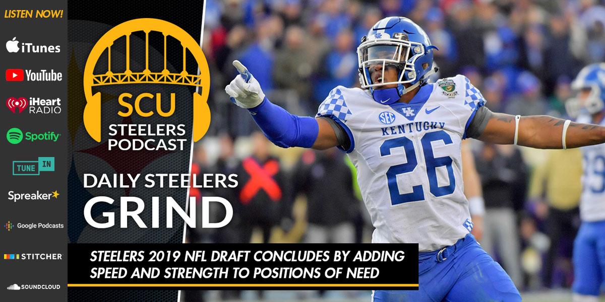 Steelers 2019 NFL Draft concludes by adding speed and strength to positions of need