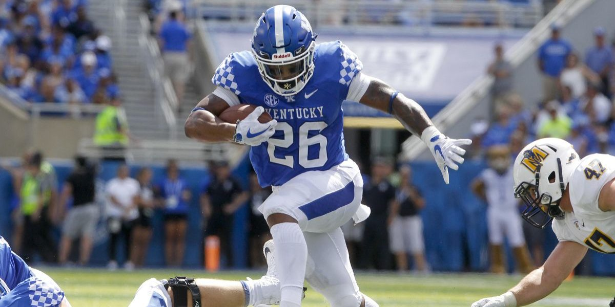 Kentucky Wildcats running back Benny Snell is selected by the Pittsburgh Steelers in the 2019 NFL Draft