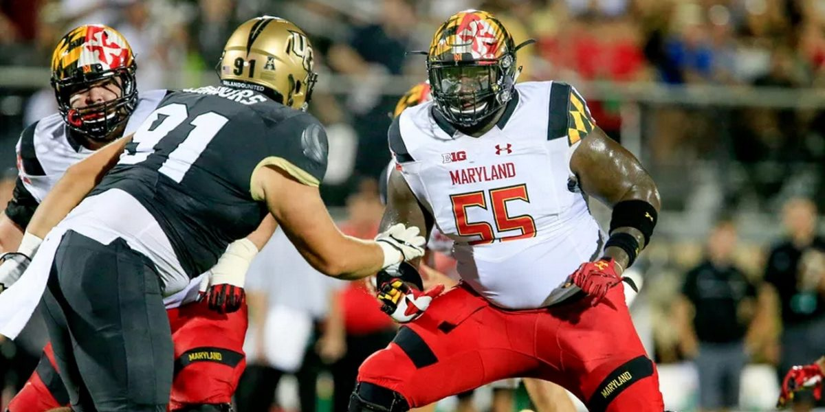 Offensive lineman Derwin Gray Maryland Terrapins