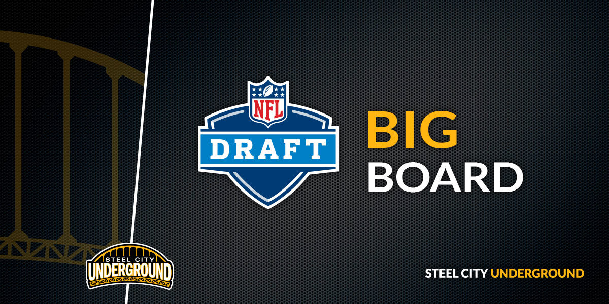 NFL Draft Big Board