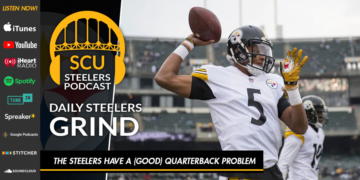 TheSteelers have a (good) quarterback problem