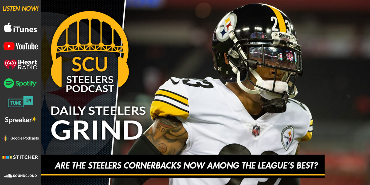 Are the Steelers cornerbacks now among the league's best?
