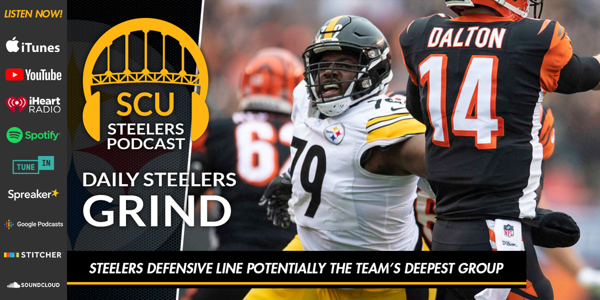 Steelers defensive line potentially the team's deepest group