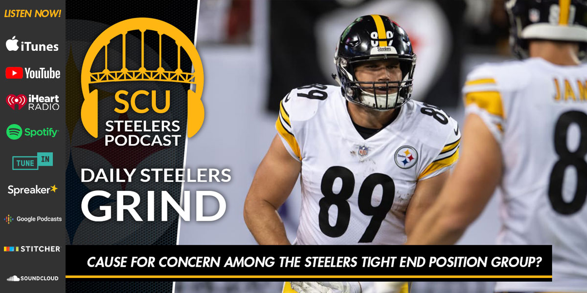 Cause for concern among the Steelers tight end position group?