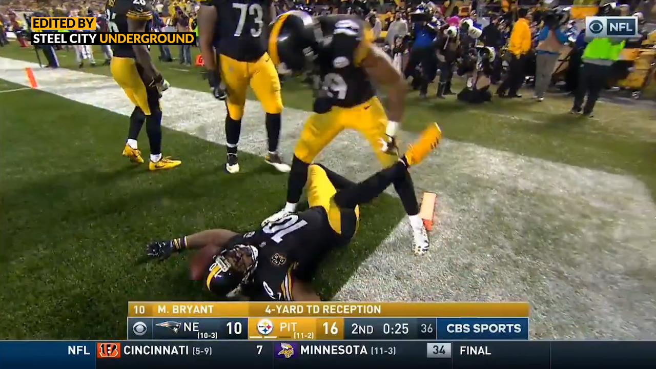 "JuJu recreates the ""crime scene"" from his Burfict hit"