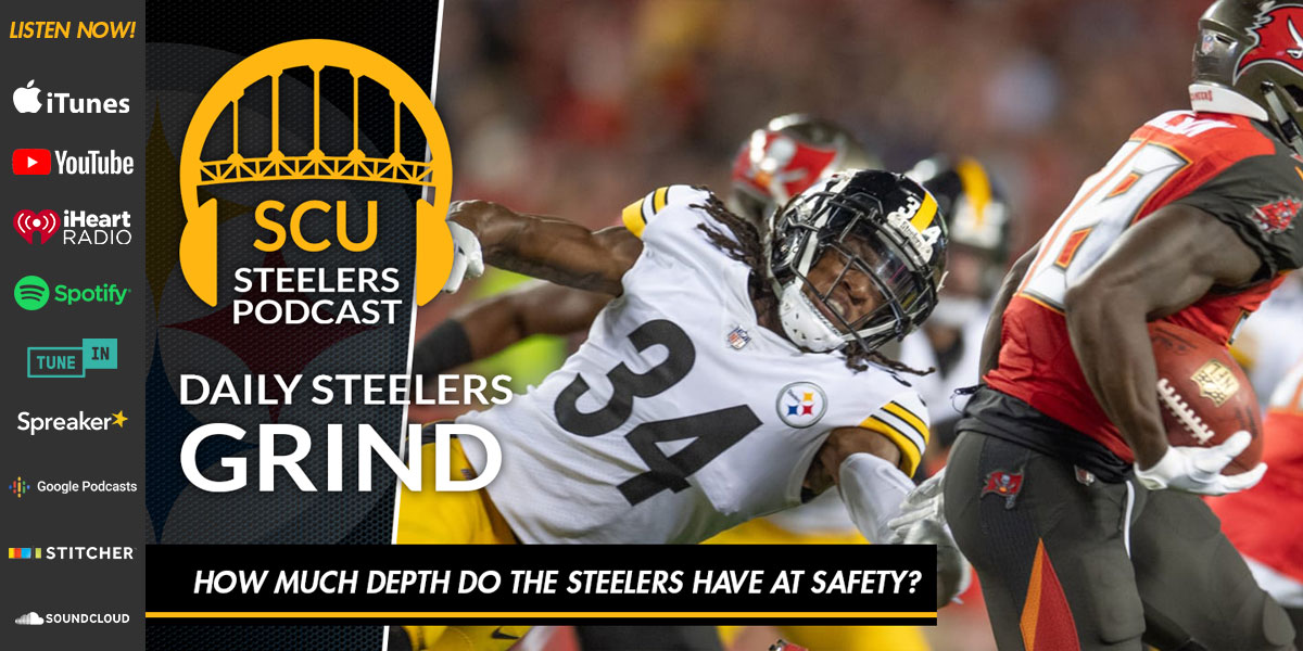 How much depth do the Steelers have at safety?