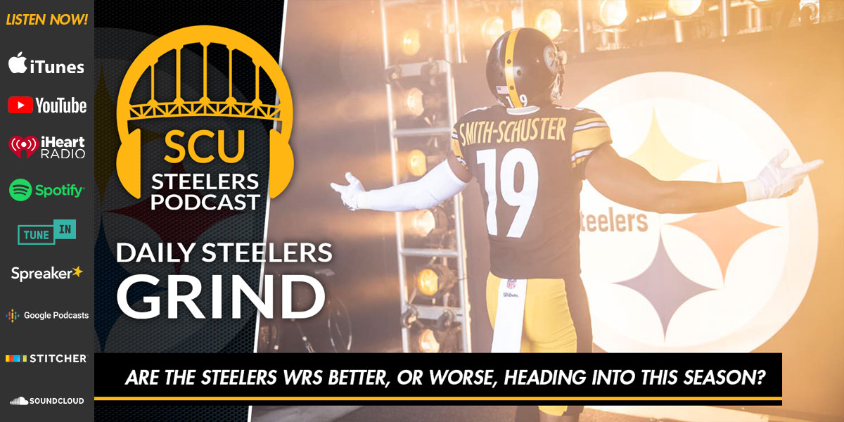 Are the Steelers WRs better, or worse, heading into this season?