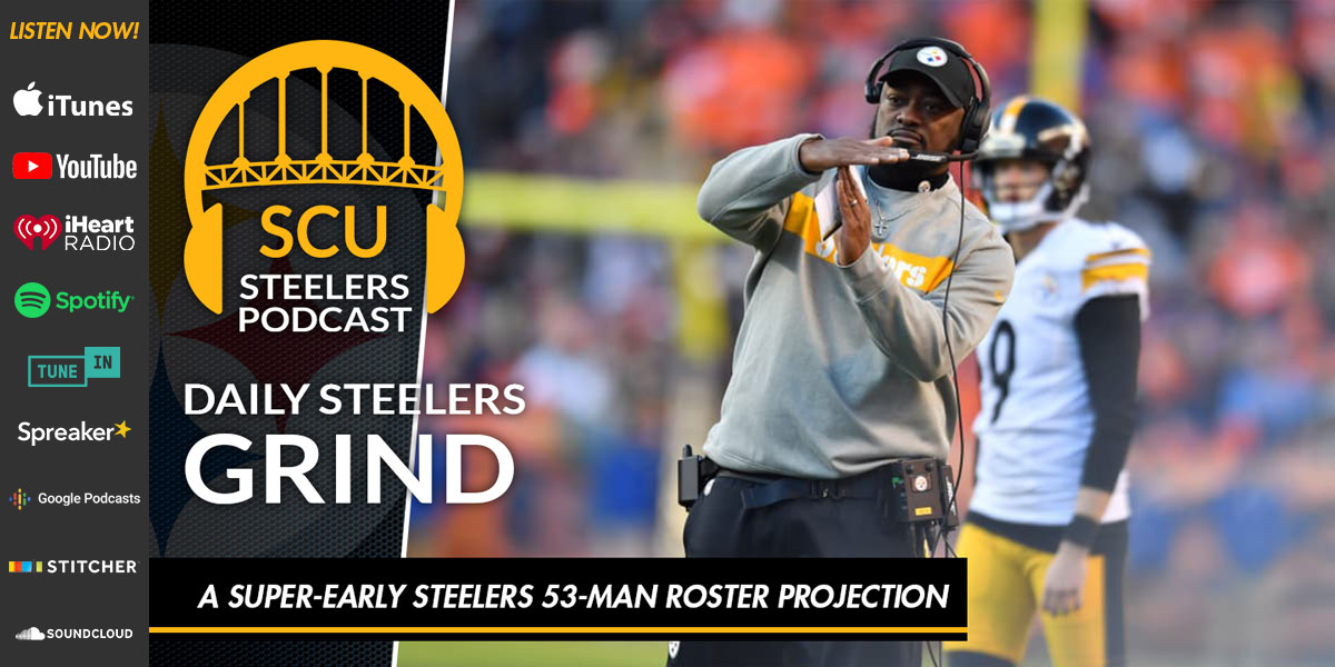A super-early Steelers 53-man roster projection