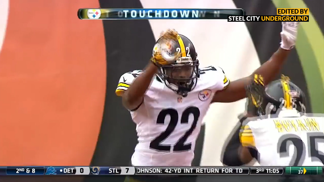 Will Gay's pick six ties Rod Woodson for Steelers record