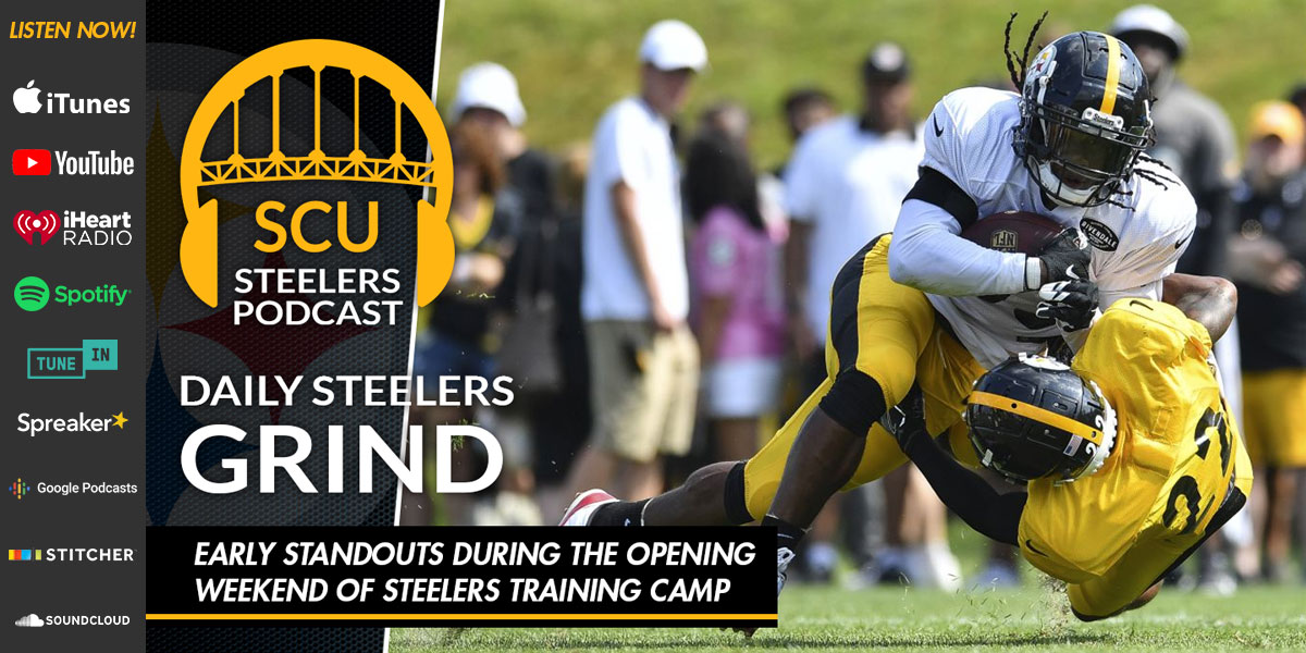 Early standouts during the opening weekend of Steelers training camp