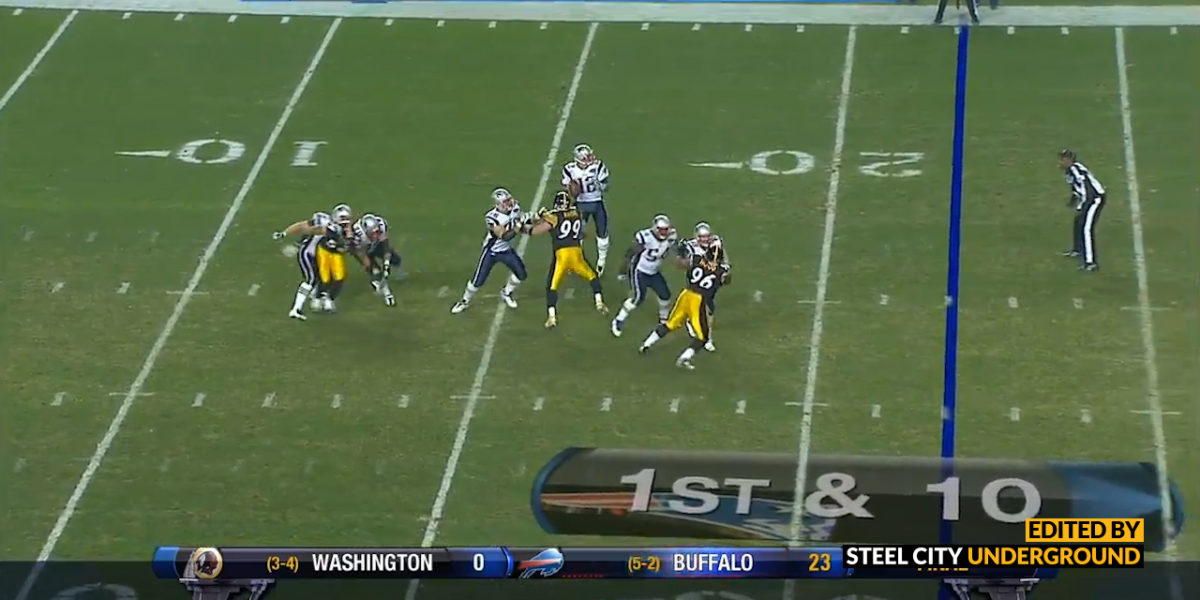 Keisel strip of Brady seals win with a safety