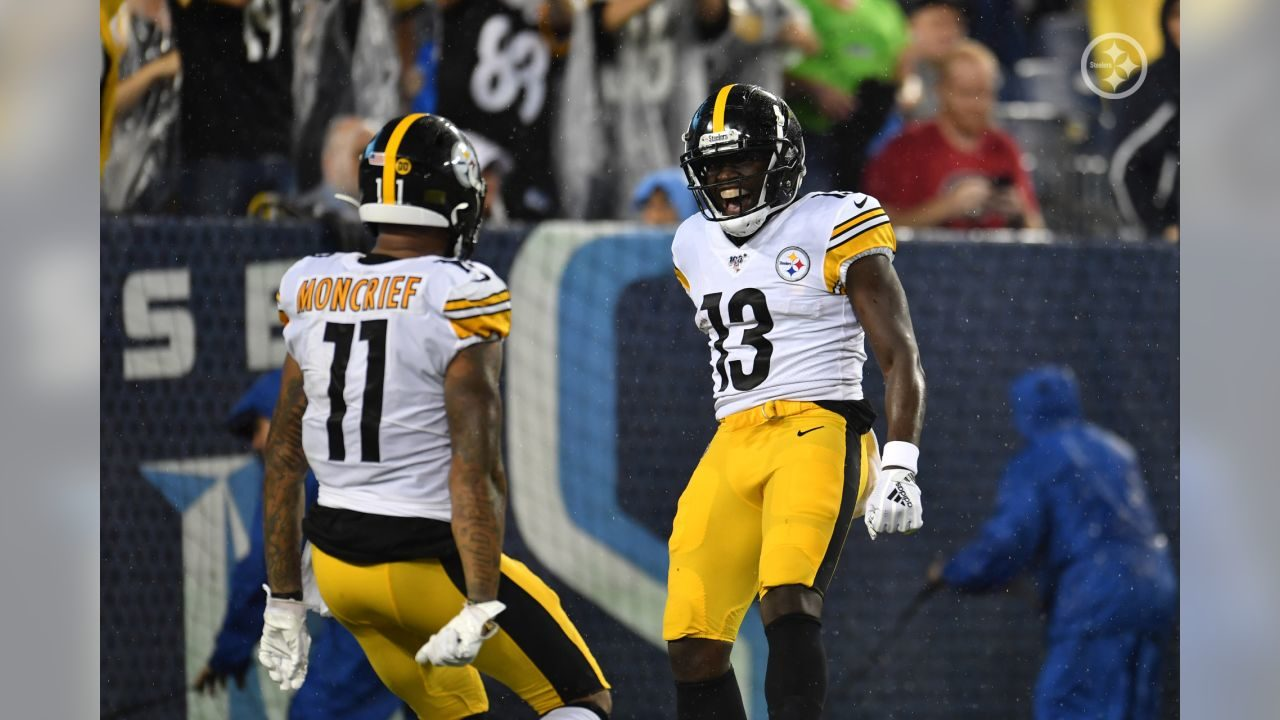 Pittsburgh Steelers WRs Donte Moncrief and James Washington