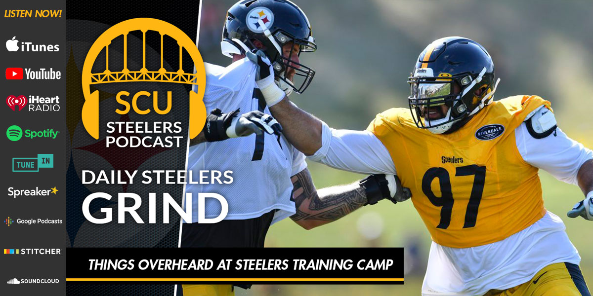 Things overheard at Steelers training camp