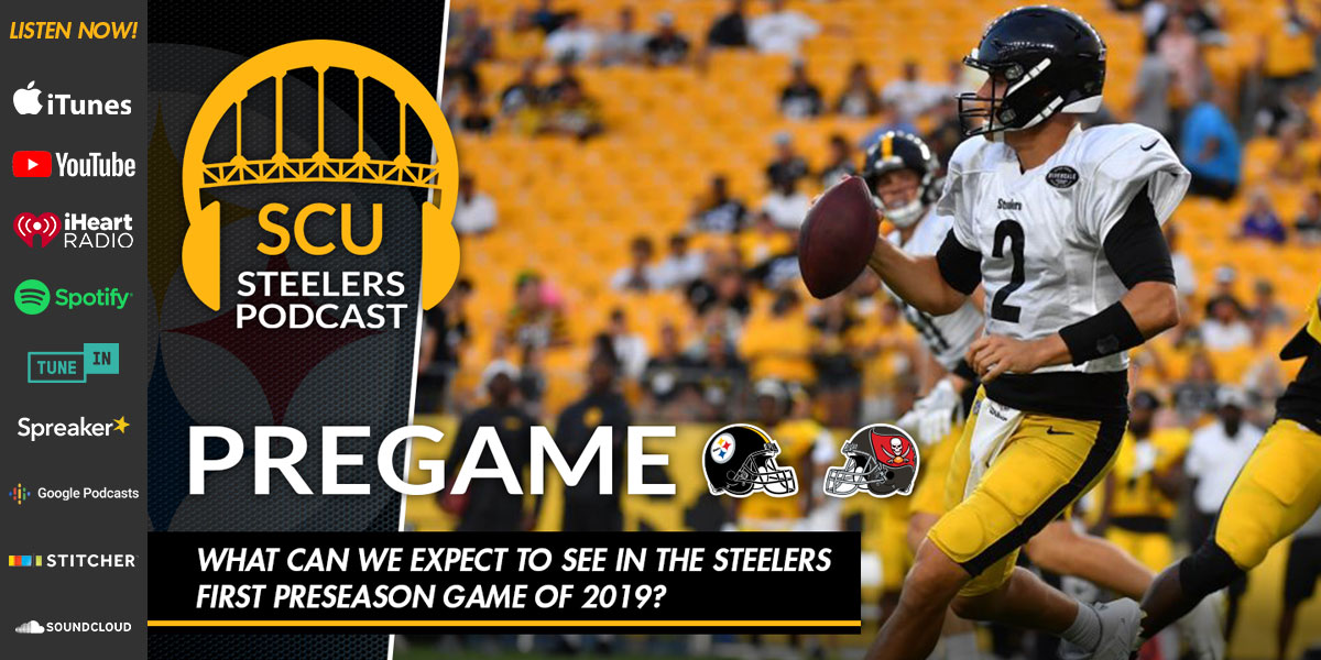 What can we expect to see in the Steelers first preseason game of 2019?