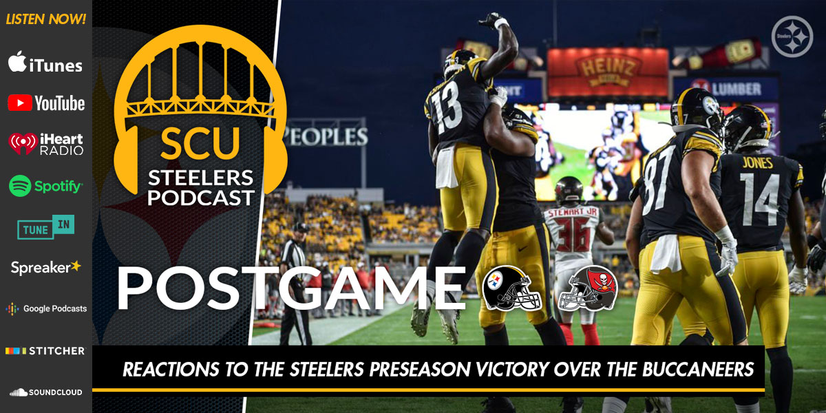 Reactions to the Steelers preseason victory over the Buccaneers