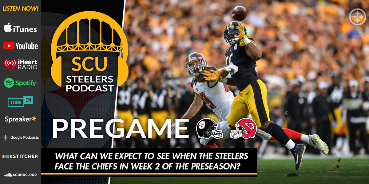 What can we expect to see when the Steelers face the Chiefs in Week 2 of the NFL preseason?