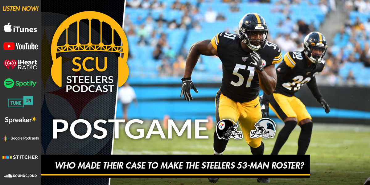 Who made their case to make the Steelers 53-man roster?
