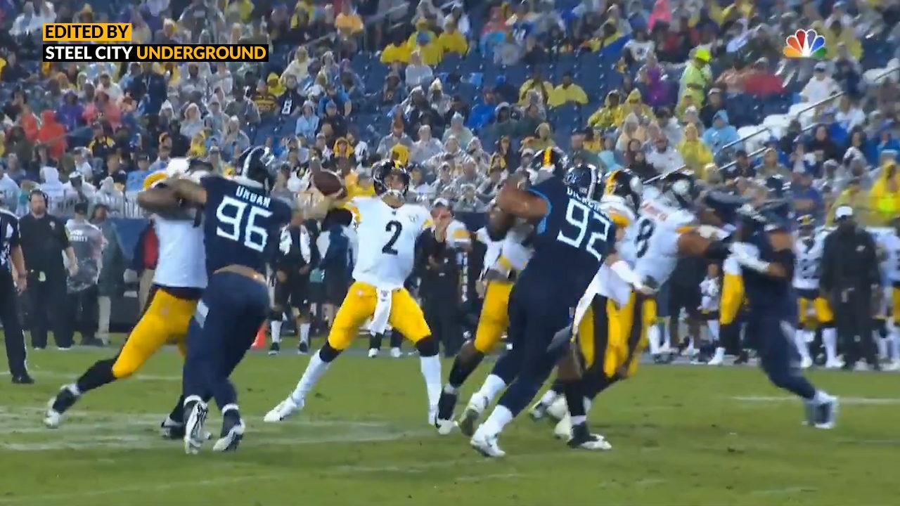 Pittsburgh Steelers QB Mason Rudolph
