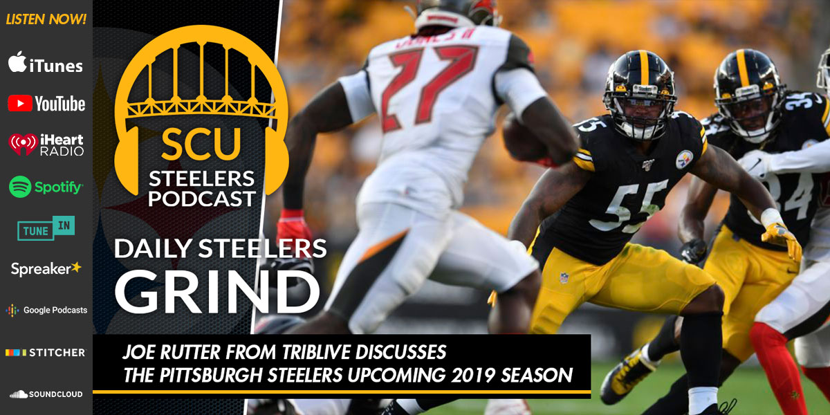 Joe Rutter from TribLive discusses the Pittsburgh Steelers upcoming 2019 season