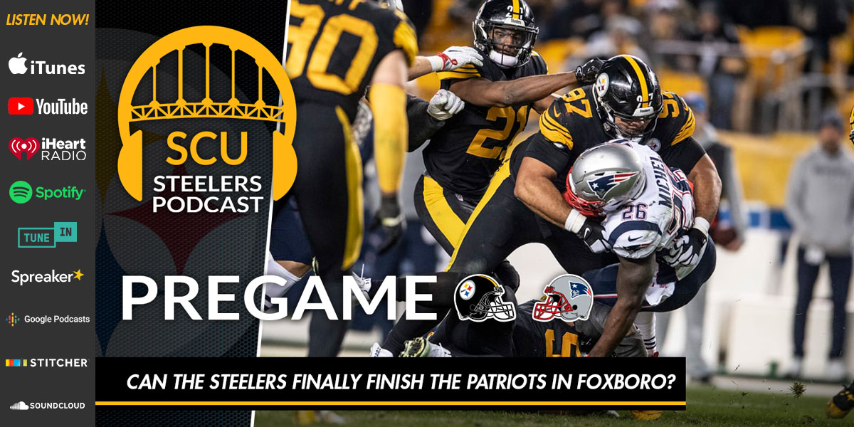 Can the Steelers finally finish the Patriots in Foxboro?