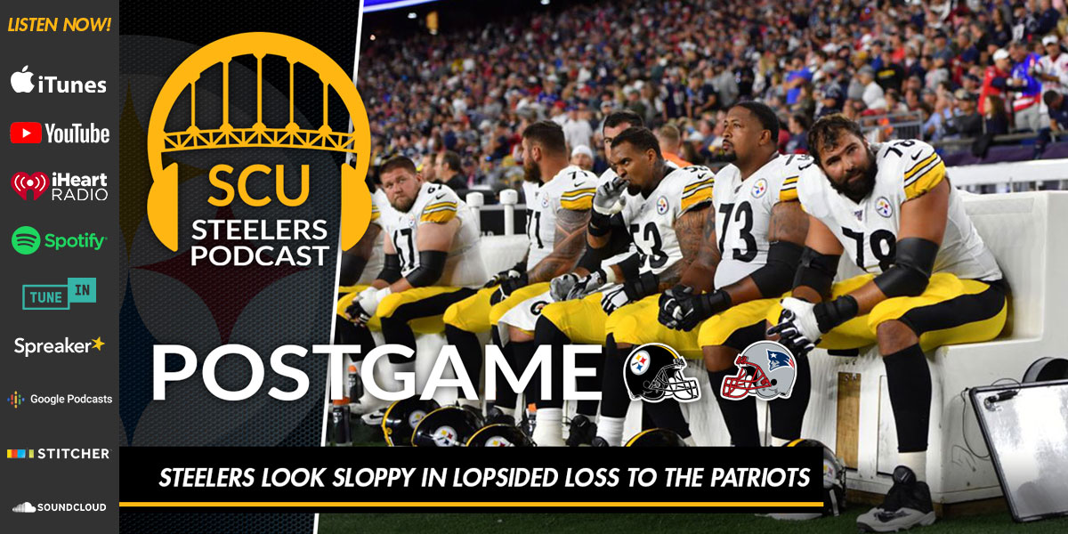 Steelers look sloppy in lopsided loss to the Patriots