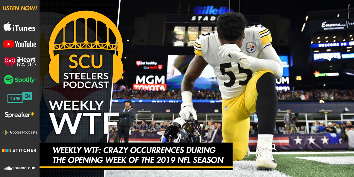 Weekly WTF: Crazy occurrences during the opening week of the 2019 NFL season