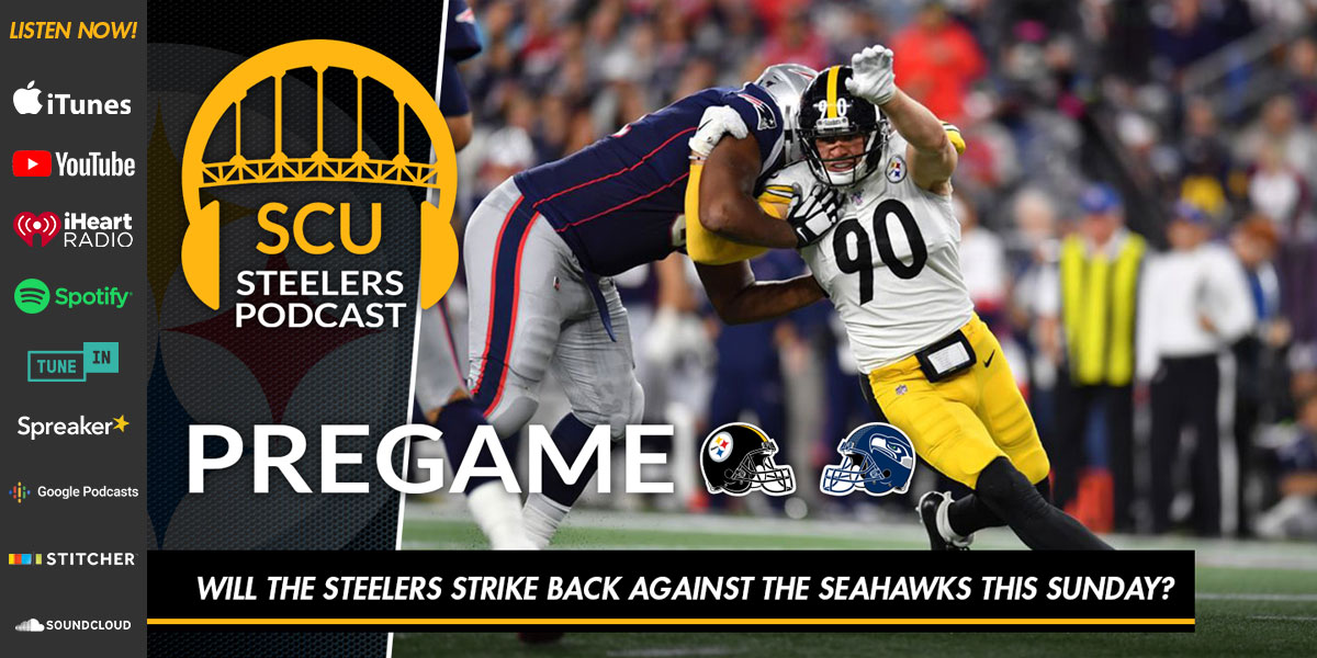 Will the Steelers strike back against the Seahawks this Sunday?