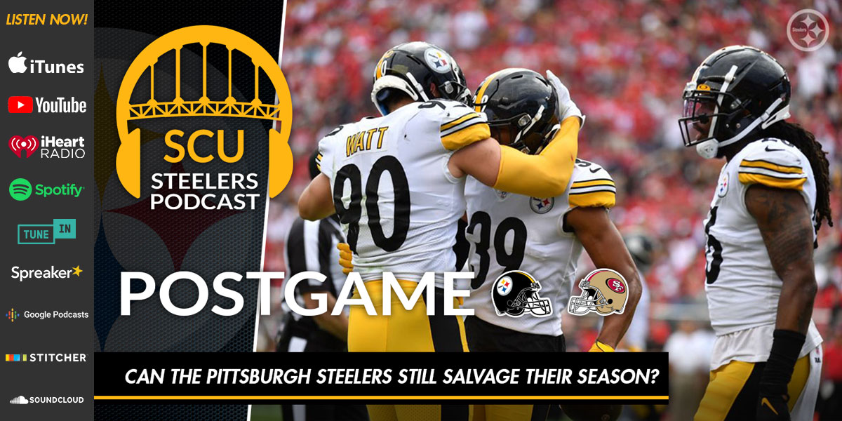 Can the Pittsburgh Steelers still salvage their season?