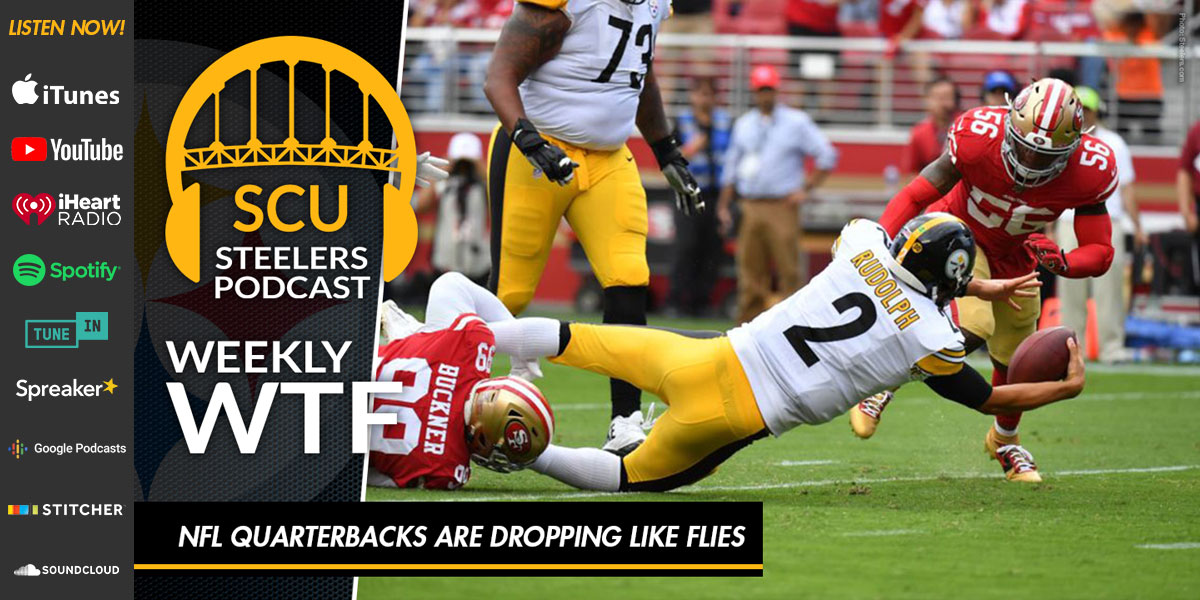Weekly WTF: NFL quarterbacks are dropping like flies