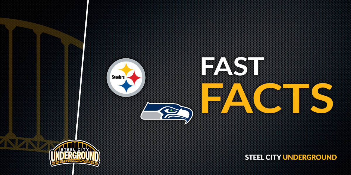 Pittsburgh Steelers Seattle Seahawks Fast Facts