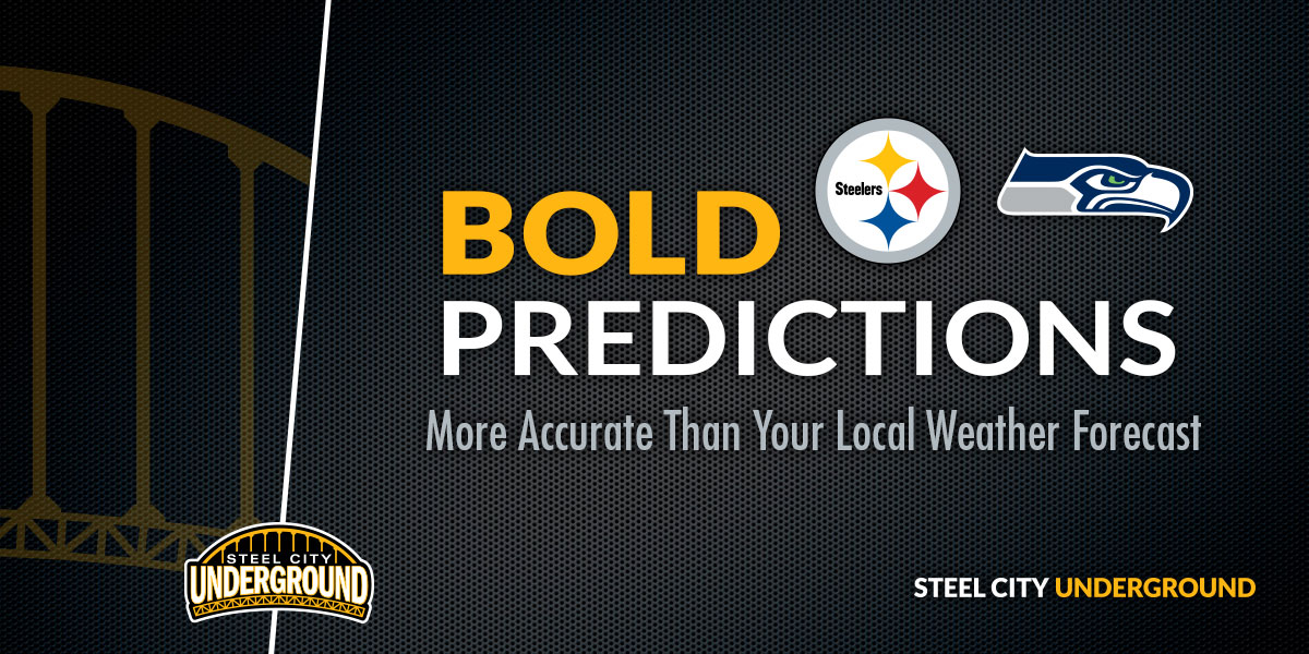 Pittsburgh Steelers Seattle Seahawks Bold Predictions