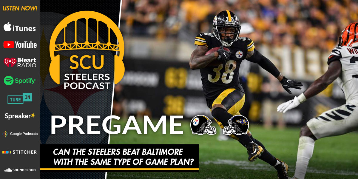 Can the Steelers beat Baltimore with the same kind of game plan?