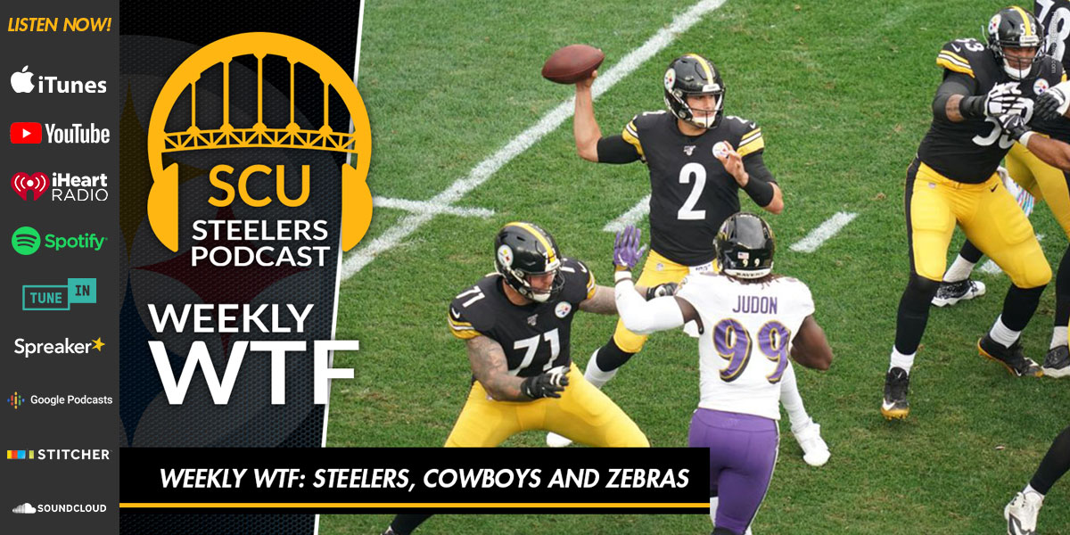 Weekly WTF: Steelers, Cowboys and Zebras