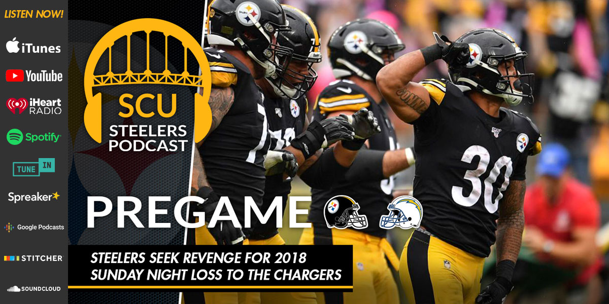 Steelers seek revenge for 2018 Sunday Night loss to the Chargers