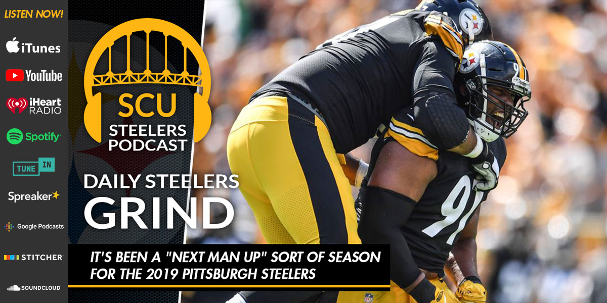 """It's been a """"next man up"""" sort of season for the 2019 Pittsburgh Steelers"""