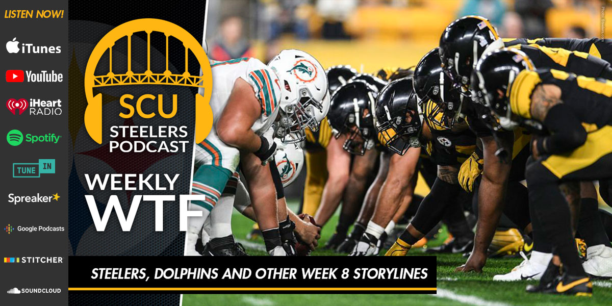 Weekly WTF: Steelers, Dolphins and other Week 8 storylines