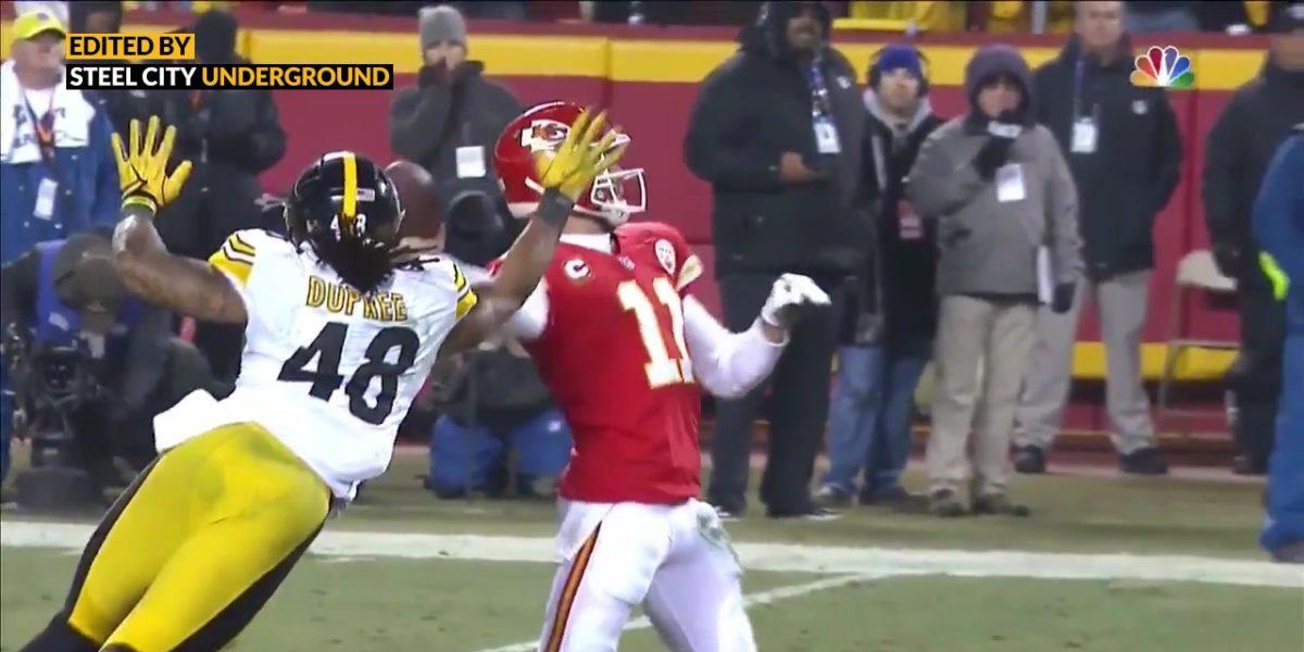 Pittsburgh Steelers LB Bud Dupree