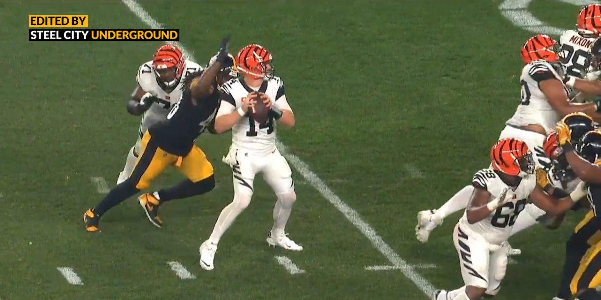 Watch: Bud Dupree's big-time strip-sack of Andy Dalton