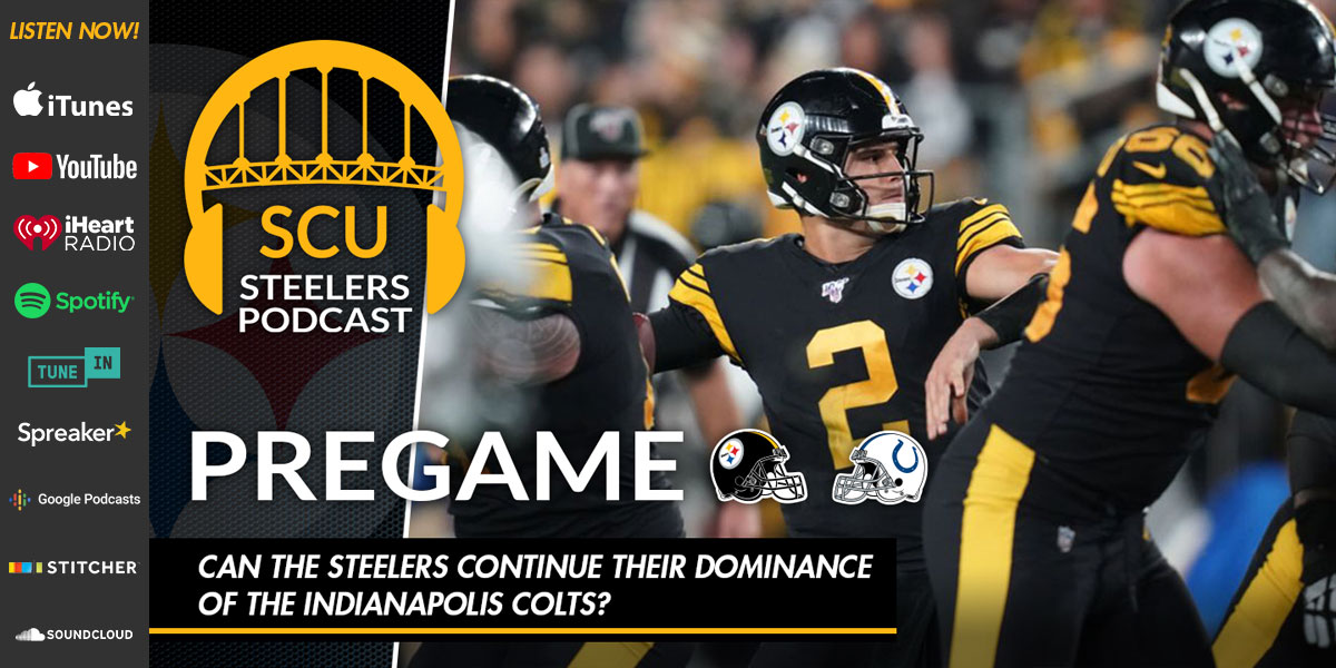 Can the Steelers continue their dominance of the Indianapolis Colts?