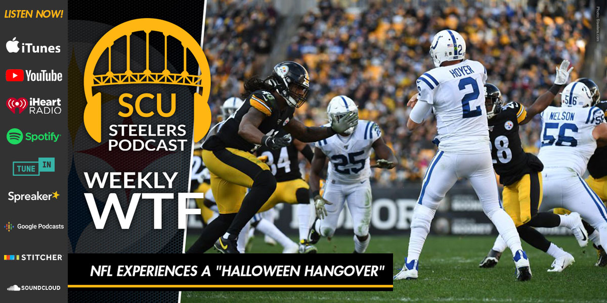 "Weekly WTF: NFL experiences a ""Halloween Hangover"""