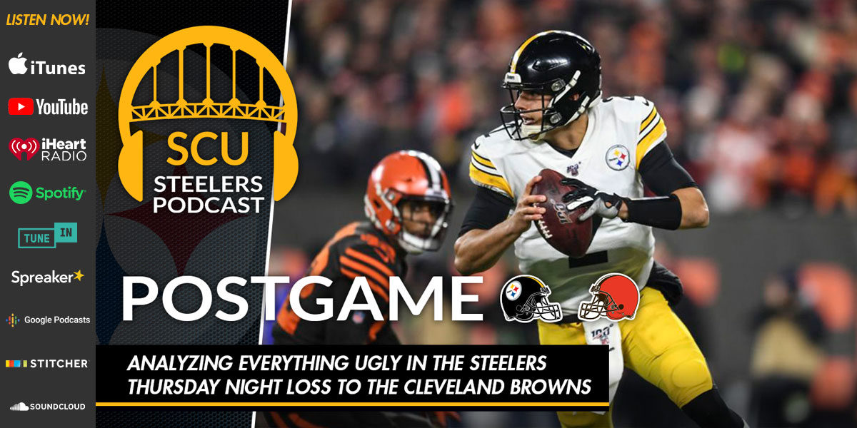 Analyzing everything ugly in the Steelers Thursday night loss to the Cleveland Browns