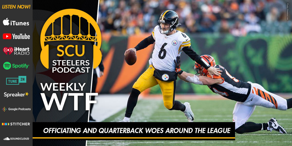 Weekly WTF: Officiating and quarterback woes around the league