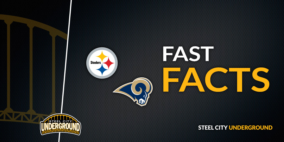 Steelers vs. Rams Fast Facts