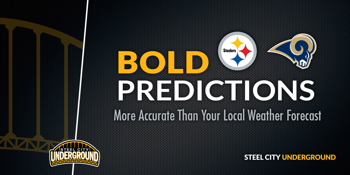 Steelers vs. Rams Bold Predictions