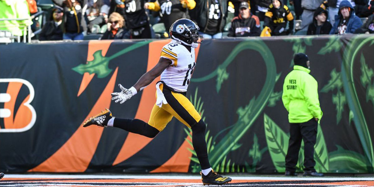 Pittsburgh Steelers WR James Washington