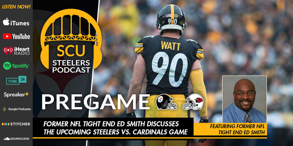Former NFL tight end Ed Smith discusses the upcoming Steelers vs. Cardinals game