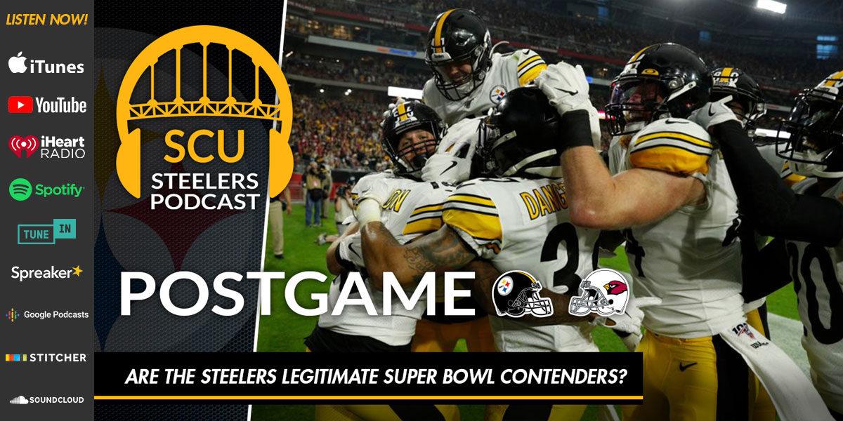 Are the Steelers legitimate Super Bowl contenders?