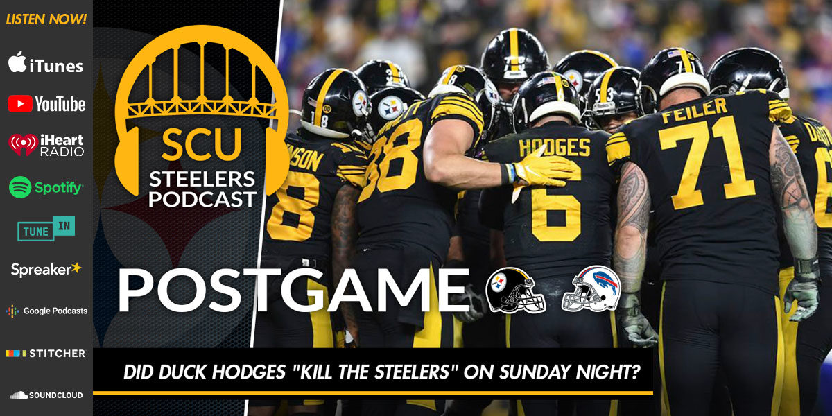 "Did Duck Hodges ""kill the Steelers"" on Sunday night?"